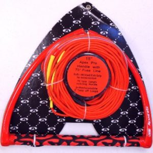 """Accurate 15"""" Apex Pro Handle with 70' fuse line waterski rope handle combo"""