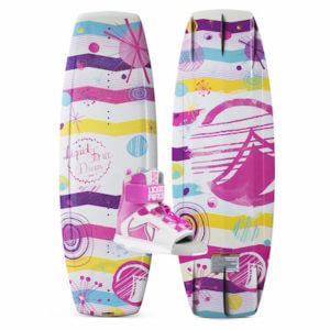 LiquidForce Dream Girls Board and Binding Combo