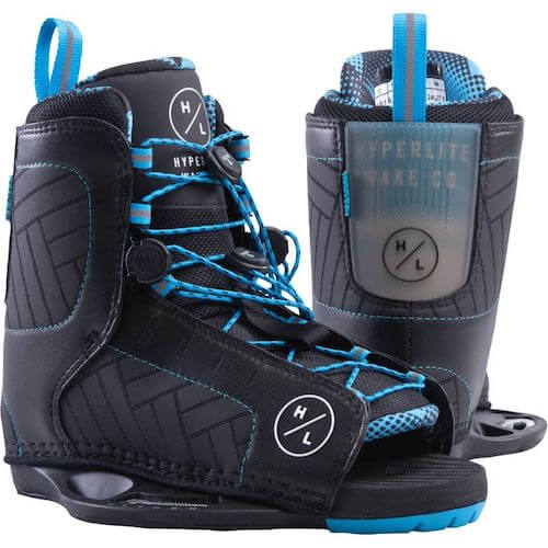 Hyperlite remix blue open toe binding