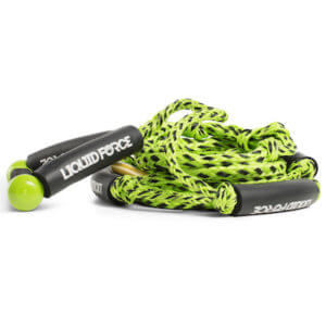 Liquid Force floating surf rope green