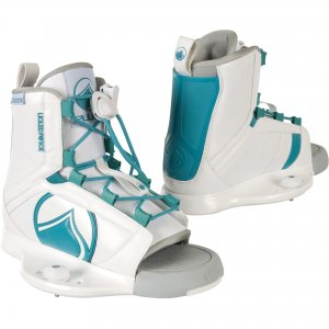 LiquidForce Plush Wakeboard Binding_white