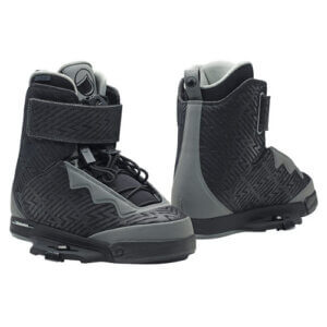 LiquidForce Shane Binding Closed Toe Black & Grey