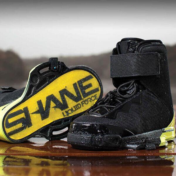 LiquidForce Shane Binding Closed Toe Black & Yellow