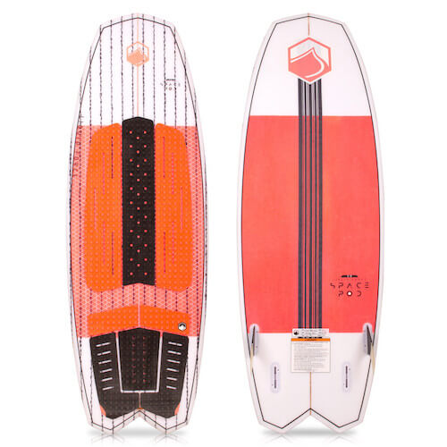 LiquidForce Space Pod 5.0 wake surfer