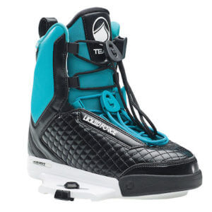 LiquidForce Team Ladies Binding black and teal
