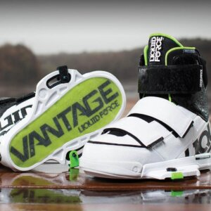 LiquidForce Vantage Binding Closed Toe White