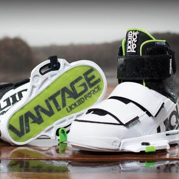 LiquidForce Vantage Binding Closed Toe White