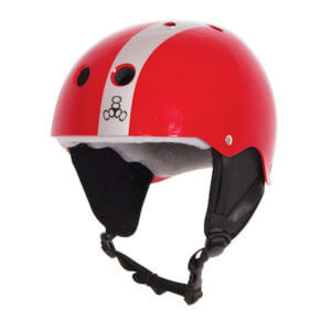 LiquidForce Wakeboard helmet Flash red