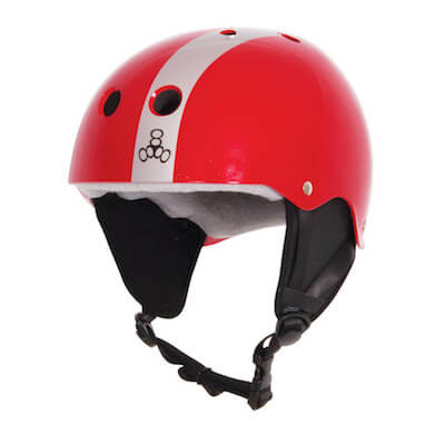 LiquidForce Wakeboard helmet Flash red