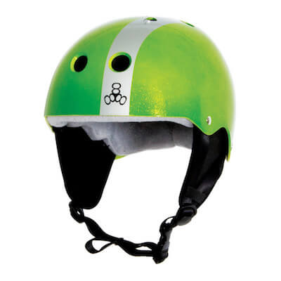 LiquidForce Flash Helmet Apple Green