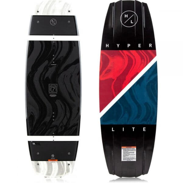 Hyperlite Franchise Wakeboard Black/Red/Blue