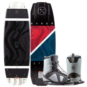 Hyperlite 2020 Franchise Wakeboard Team OT bindings Combo