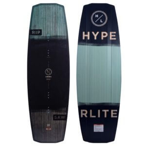 Hyperlite 2020 Ripsaw wakeboard with Team OT Bindings Cable Wakeboard Package