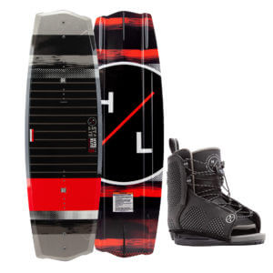 Hyperlite 2020 State Wakeboard Remix bindings Combo
