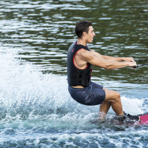 HO Sports Hovercraft Slalom Waterski in action