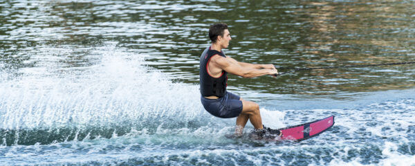HO Sports Hovercraft Slalom Waterski in action