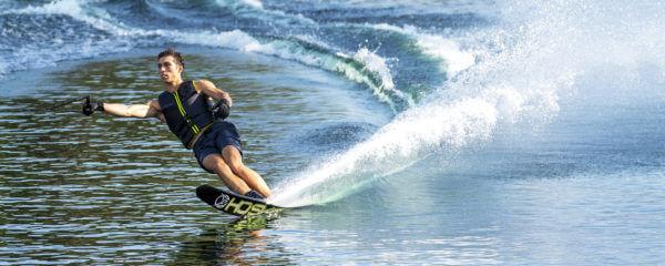 HO Sports Omni Slalom Waterski on the water