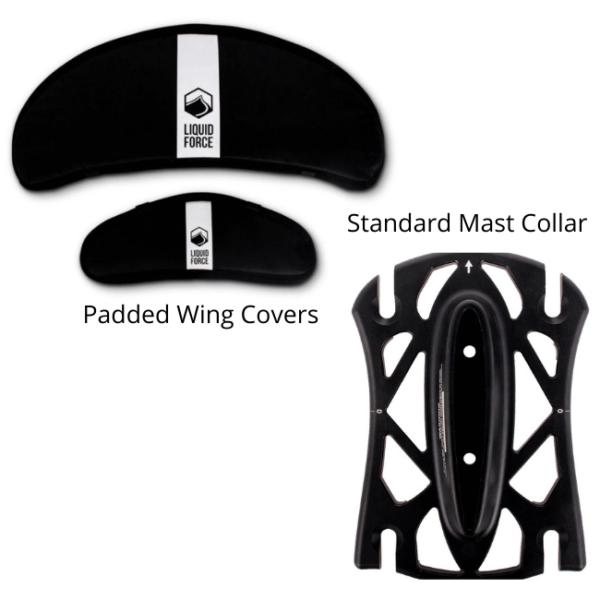 LiquidForce Nebula mast collar & wing covers