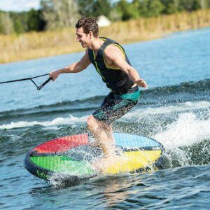 HO Sports Rad 5 In action for sale on wakeboards.co.za