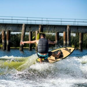 Hyperlite Automatic Wakesurfer In Action 1